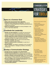 Ebola Communication Strategies
